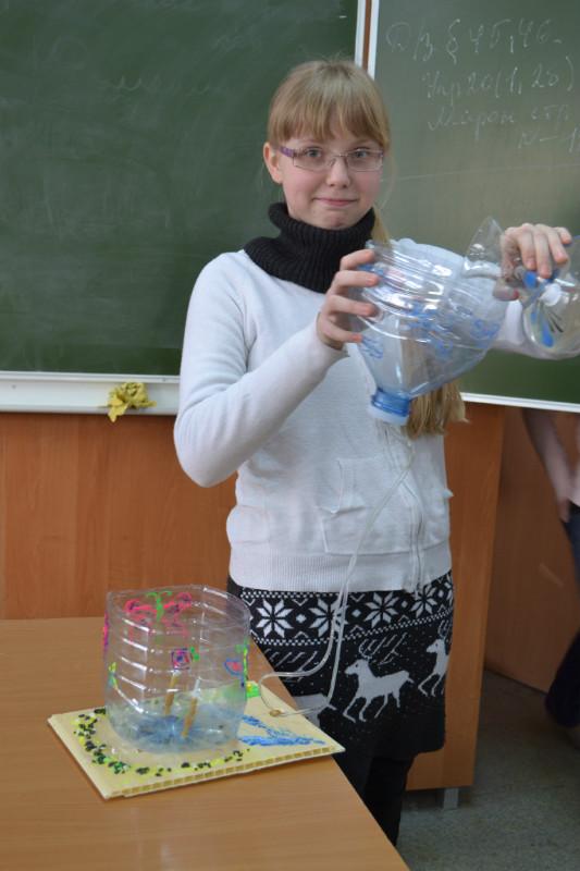 Поделки  по физике 7 класс